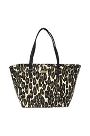 Leopard Print Patent Leather Harmony Tote