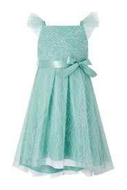 Araminta Glitter Net Party Dress