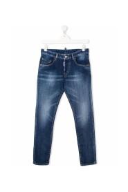 TEEN faded skinny jeans
