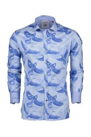 A fish named Fred Shirt Light Blue Birds