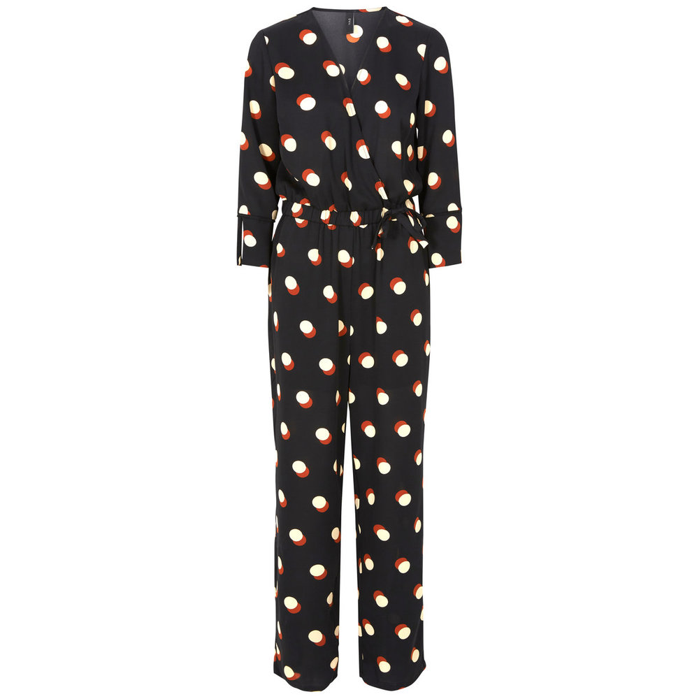 Jumpsuit Longsleeved dotted