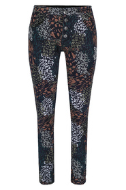 Printed Stretch Chinos