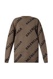 Logo-embroidered sweater