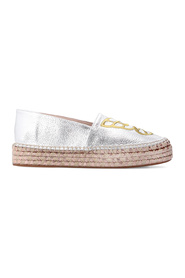 Butterfly patterned espadrilles
