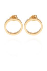 earrings with logo