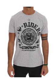 Cotton RIDERS Crewneck T-Shirt