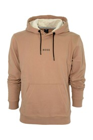 Relaxed-fit hooded sweatshirt with logo 50462831