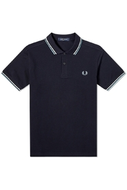Slim Fit Twin Tipped Polo