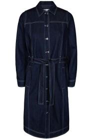 Carine Denim Contrast Jacket