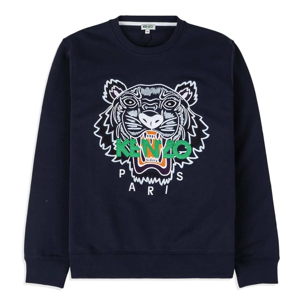 Sweater with embroidered Tiger