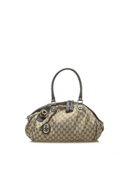 Pre-owned GG Canvas Sukey Satchel