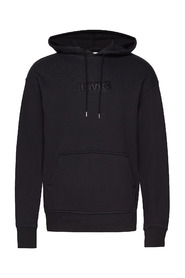Relaxed Graphic Hoodie Genser