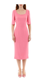 Sheath midi dress