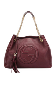 Begagnade Soho Chain Leather Tote Bag