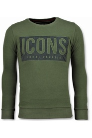 ICONS Block - Grappige Sweater Mannen