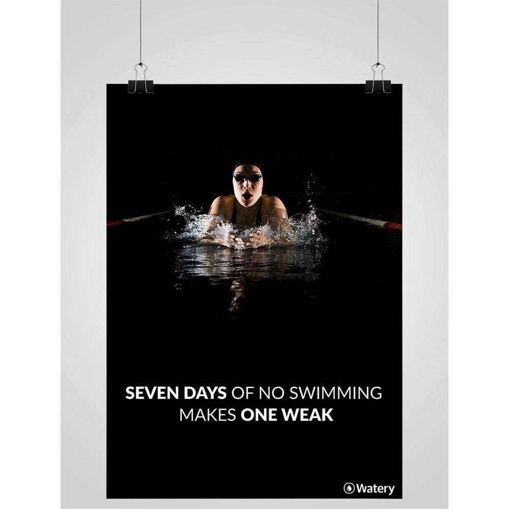 Seven Days Of No Swimming Makes One Weak