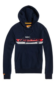 Embrossed Classic Hood Gensere