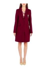 Cappotto con spilla gioiello WF1121T4612