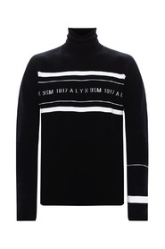 Turtleneck sweater with logo