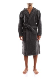 TOMMY HILFIGER 2S87905573 HOODED BATHROBE BATHROBE Men MAGNET