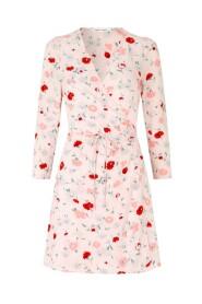 britt  wrap dress 10864