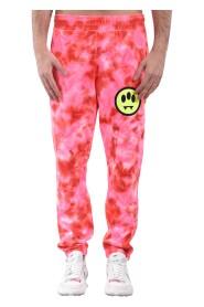 Pantaloni tie dye in felpa
