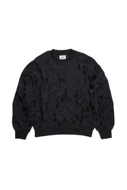 Willow Leopard Embroidery Sweater