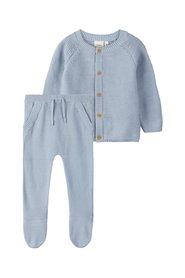Cadeauset knit cardigan and trousers