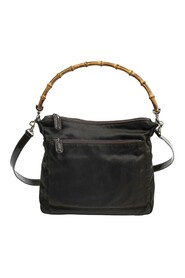 Pre-owned Front Pocket Bamboo Tote