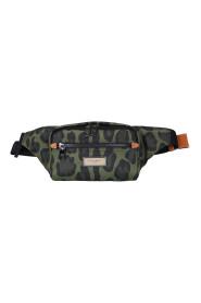 camouflage-print belt bag