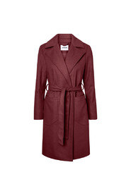 Noisy May Dido Long Coat Wine