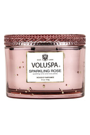 Boxed Corta Maison Glass Candle - Sparkling Rose Duftlys