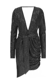 Luisa Dress - Silver Sequin