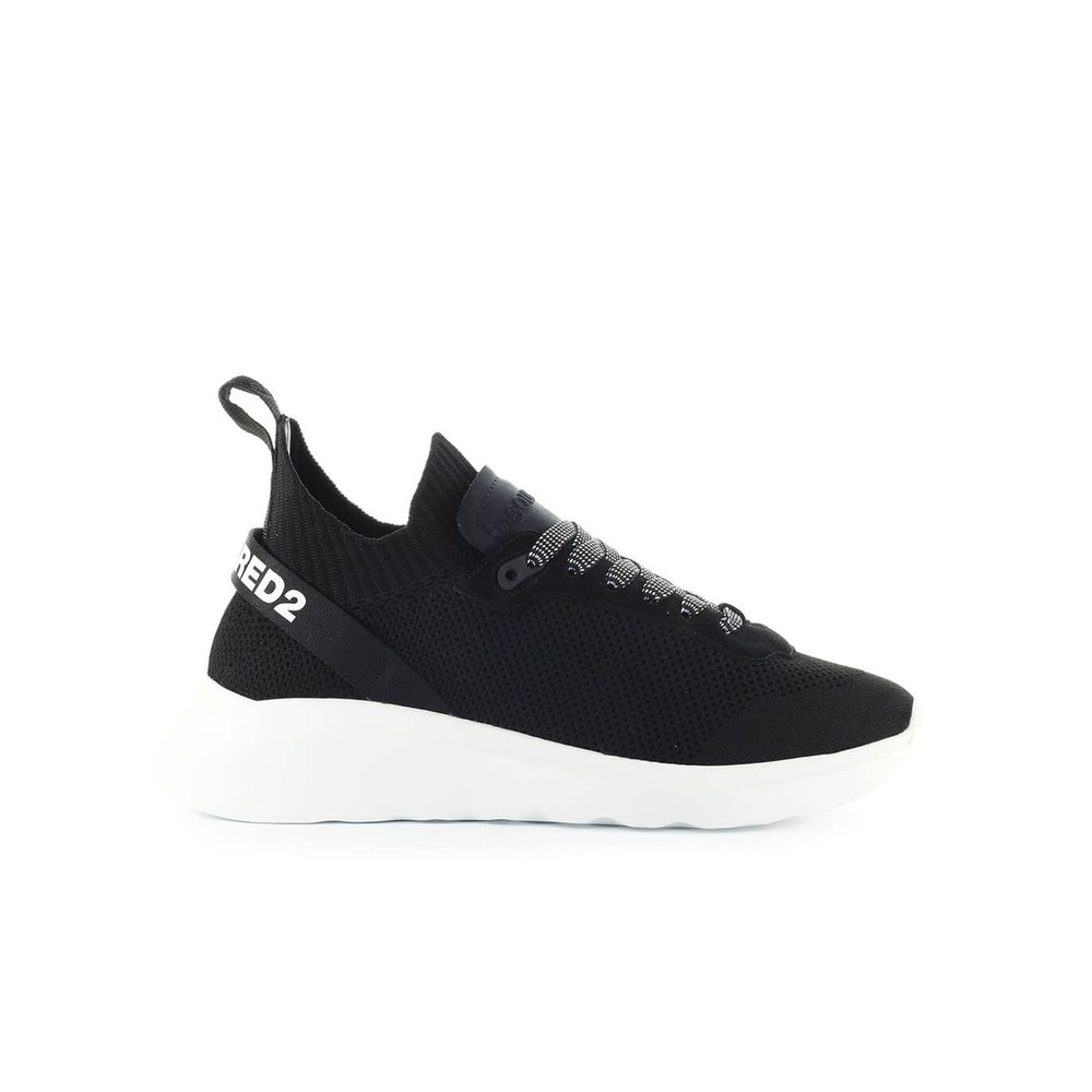 Black men's shoes trainers sneakers