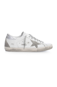 SUPERSTAR gco LEATHER UPPER SUEDE STAR METAL LETTERING SNEAKERS