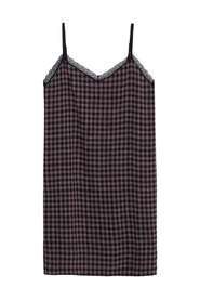 Gingham check dress