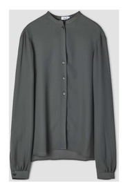 Adele Blouse - MINERAL GREEN, 34