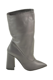 Leather Pointy Boots