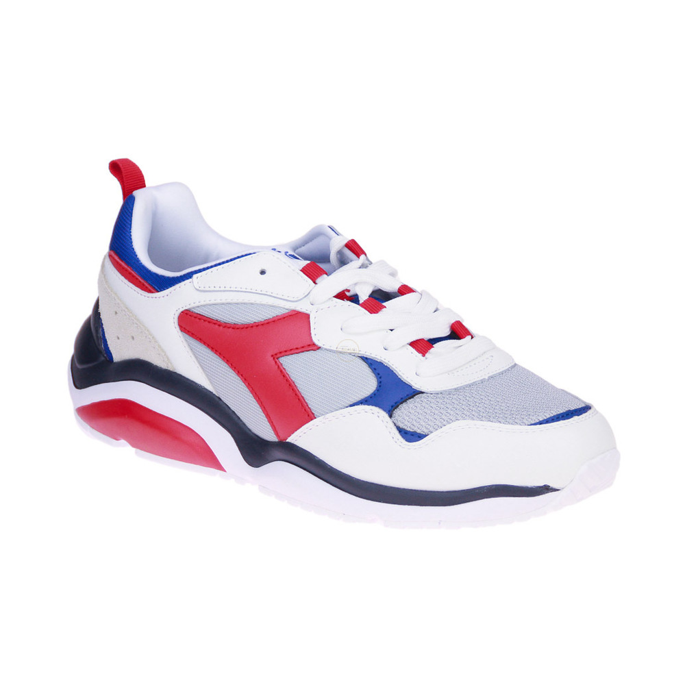 White Whizz Run Sneakers | Diadora | Sneakers | Herenschoenen