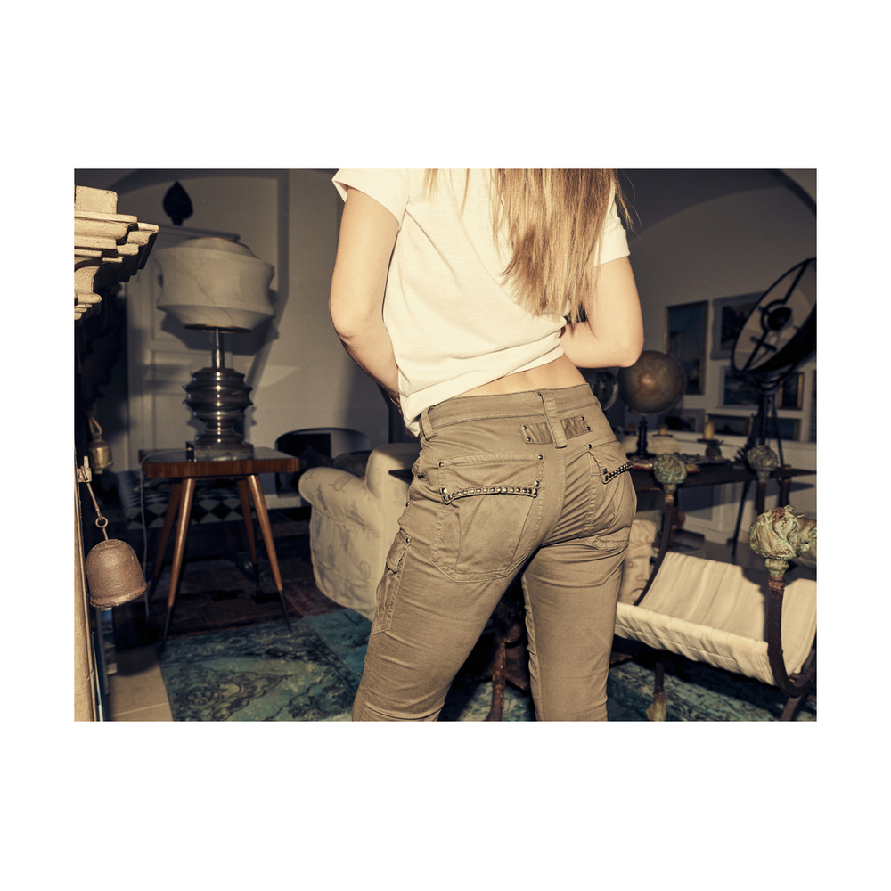 MOS MOSH Beige Cheryl Cargo Reunion Pants MOS MOSH