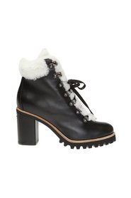 'St. Moritz' ankle boots with fur trim