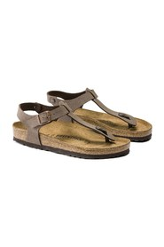 BIRKENSTOCK KAIRO BIRKO-FLOR NUBUCK BRUSHED FLIP-FLOPS Unisex LIGHT BROWN