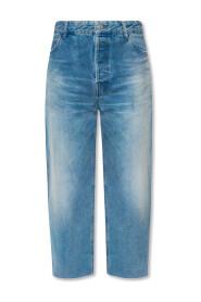 Straight-cut jeans