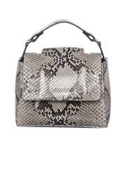 MINI SVEVA PYTHON SHOULDER BAG