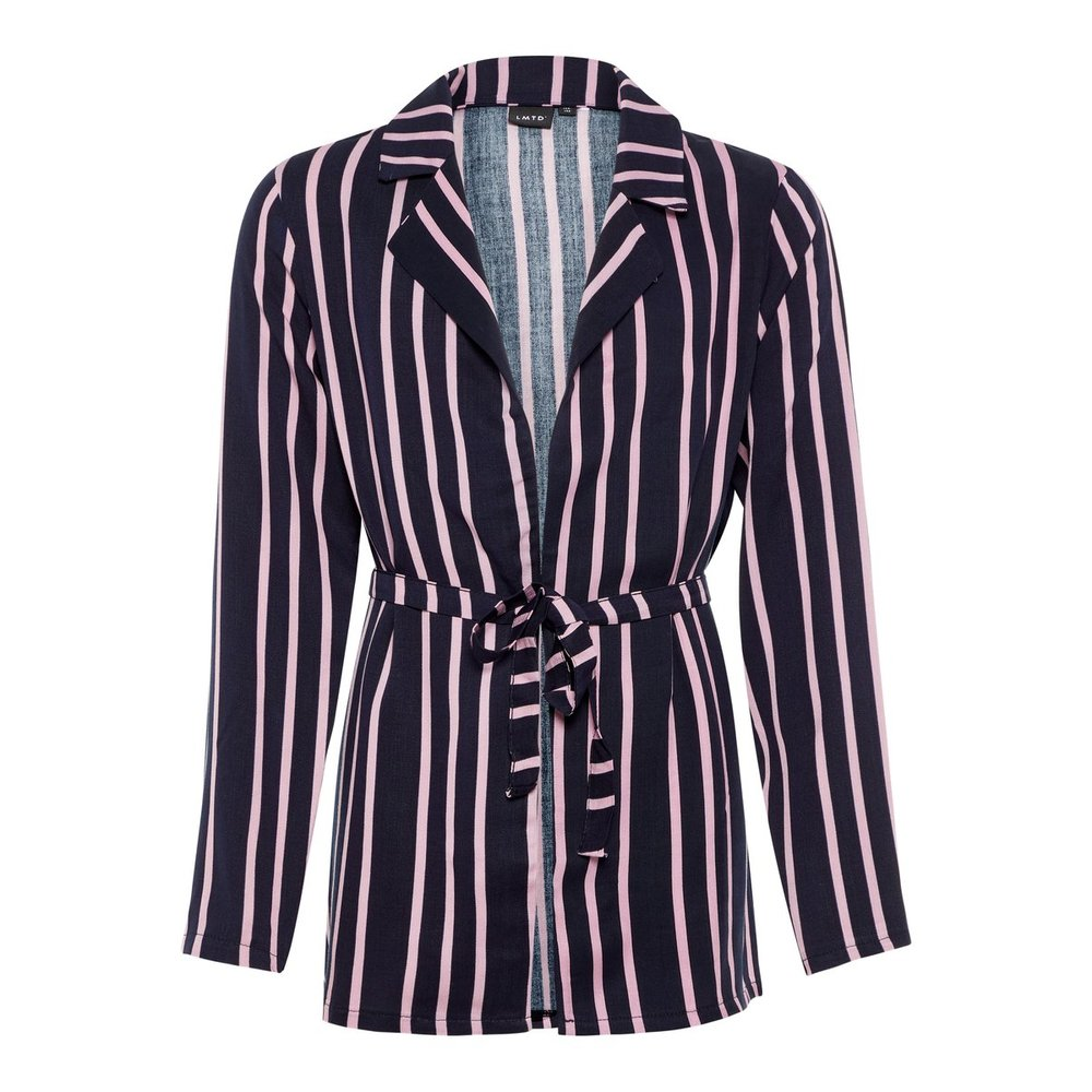 Blazer striped loose