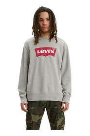 LEVIS 17895 0079 GRAFIK CREW sweater mænd GREY HEATHER