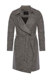 'Bexley' checked coat