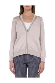 V-Neck Cotton Cardigan