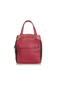 Pequin-Trimmed Boxy Tote