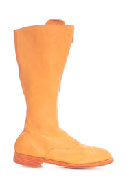 FRONT ZIP ARMY BOOTS SOLE